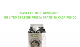 Un litro de leche fresca de La Colmereña gratis en cada pedido